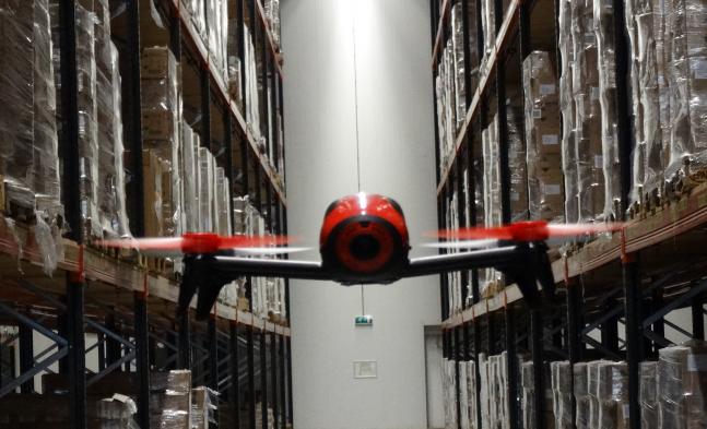 drone magazijn
